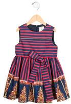 Stella Jean Girls' Striped Sleeveless Dress w/ Tags