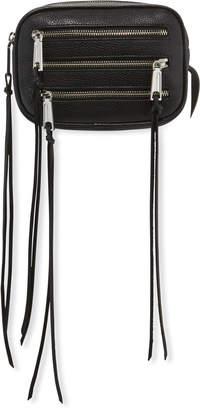 Rebecca Minkoff 3 Zip Small Leather Belt Bag