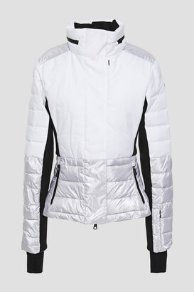 Erin Snow Quilted Color-block Shell Ski Jacket