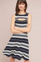 Maeve Riley Striped Knit Dress