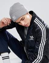 Adidas Originals Trefoil Beanie In Grey Br2609