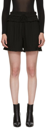 3.1 Phillip Lim Black Pleated Shorts