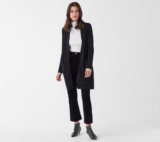 Splendid Long Cashmere Blend Cardigan