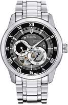 Bulova Automatic Stainless Steel Mens Watch
