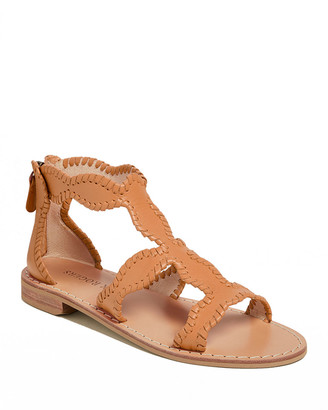 Jack Rogers Jackie Flat Whipstitch Gladiator Sandals