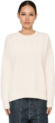 Loewe Cable Knit Wool Sweater