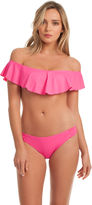 Trina Turk Gypsy Solids Off The Shoulder Bandeau