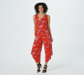 G.I.L.I. Got It Love It G.I.L.I. Regular Jetsetter Printed Jumpsuit