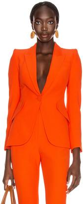 Alexander McQueen Tailored Jacket in Amber | FWRD
