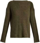 Nili Lotan Baxter distressed cashmere sweater