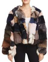 Jocelyn Fox Fur Coat - 100% Exclusive