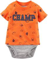 Carter's Baby Boy Double Layer Graphic Bodysuit