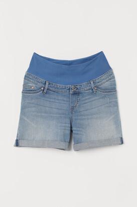 H&M MAMA Denim shorts Boyfriend