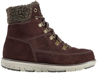 L.L. Bean Women's Mountain Lodge Boots, Sherpa Insulated Lace-Up