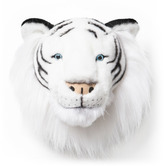 Houseology Wild And Soft Plush Albert The White Tiger