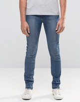 Cheap Monday Tight Skinny Jeans Utopia Opened Hem