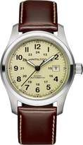 Hamilton Men's Field H70555523 Leather Swiss Automatic Watch