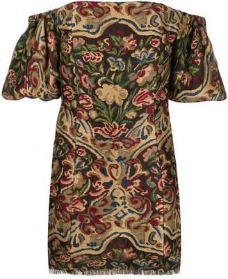 Etro off-shoulder mini dress