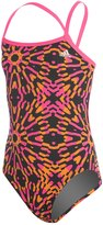 adidas Girls' Kaleidoscope Open Back One Piece Swimsuit 8150223