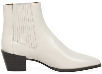 Rag & Bone Rover Leather Ankle Boots