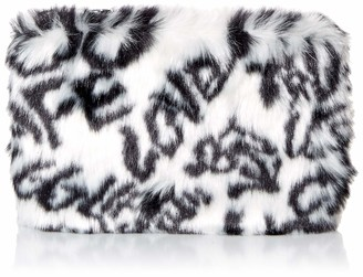 UGG Small Zip Pouch Faux Fur