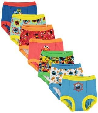 Sesame Street Toddler Boys Training Pants, 7-Pack