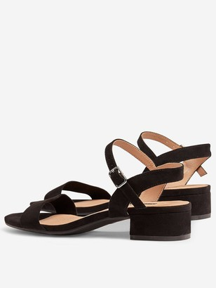 Dorothy Perkins Wide Fit Springhtly Sandal - Black