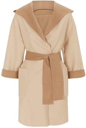Brunello Cucinelli Reversible Hooded Coat