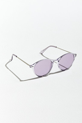 Urban Outfitters Crystal Thin Round Sunglasses
