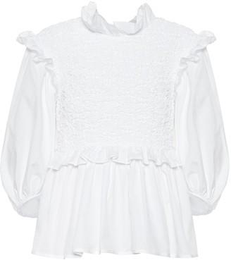 Cecilie Bahnsen Luna cotton blouse