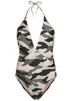Vix Paula Hermanny V i X Paula Hermanny V I X Paula Hermanny Diane Camouflage Swimsuit