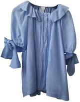 Paul & Joe Sister Blue Wool Top for Women