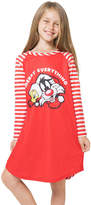 Intimo Looney Toons Red & White 'Merry Everything' Nightgown - Girls