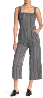 BeBop Yarn Dye Sleeveless Stripe Jumpsuit