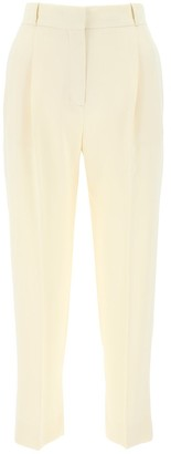 See by Chloe Cropped High-Waisted Trousers