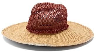 Lola Hats Screen Door Straw Hat - Brown
