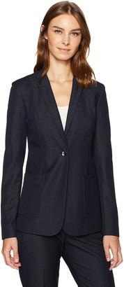 T Tahari Women's Drapey Denim Wendy Jacket