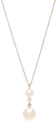 Sophie Bille Brahe Exclusive to Mytheresa Perla Simple 14kt yellow gold and pearl necklace