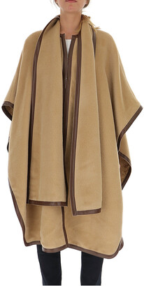 Alberta Ferretti Oversized Cape Coat