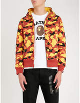 A Bathing Ape Camouflage-print cotton-jersey hoody