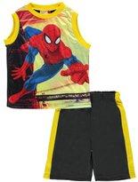"""Spiderman Little Boys' """"Bridge Escape"""" 2-Piece Outfit"""