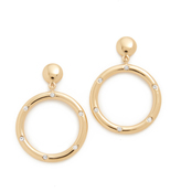 Kate Spade Goldie Links Statement Earrings