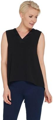 Lisa Rinna Collection V-Neck Sleeveless Blouse