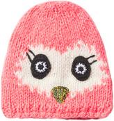 Barts Pink Bird Face Sneez Beanie