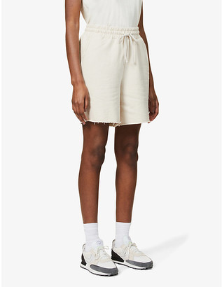 Camilla And Marc Josef relaxed high-rise cotton-jersey shorts