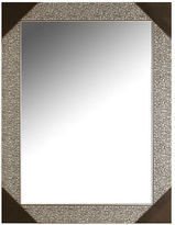 Home Outfitters Silver Mosaic Tile Mirror