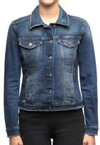Rock & Republic Women's Destructed Jean Jacket