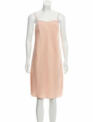 DELPOZO Sleeveless Slip Dress