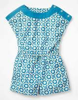 Boden Printed Woven Romper