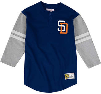 Mitchell & Ness Men San Diego Padres Heyday Henley T-Shirt